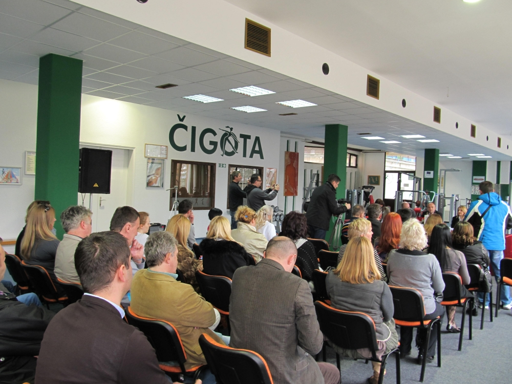 """A renovated gym has been opened in the Special hospital in Čigota in Zlatibor and workshop on """"Creating a joint tourist product"""""""