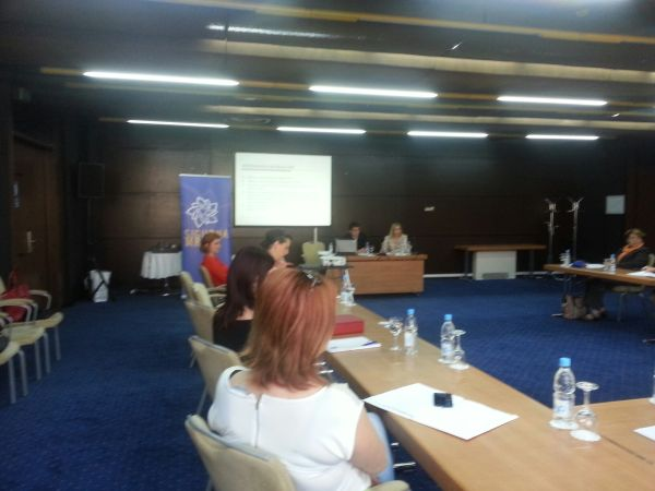 TWO WORKSHOPS HELD THE ASSOCIATED MEMBERS SAFE NETWORK ON THE SUBJECT: The rights of victims of domestic violence in the area of health care