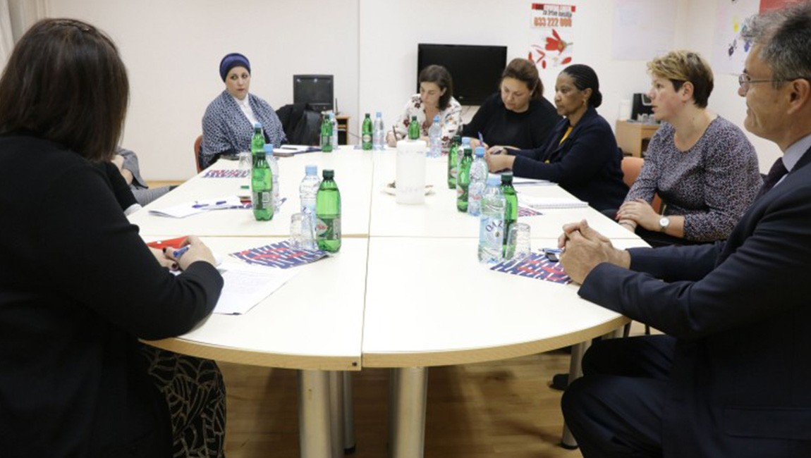 Generalna podsekretarka Ujedinjenih nacija i izvršna direktorica UN Women posjetila Sigurnu kuću u Sarajevu