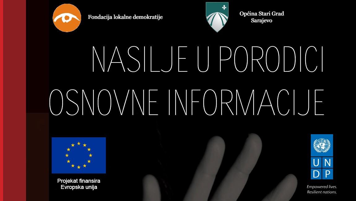 """Brošura """"Nasilje u porodici – osnovne informacije"""""""