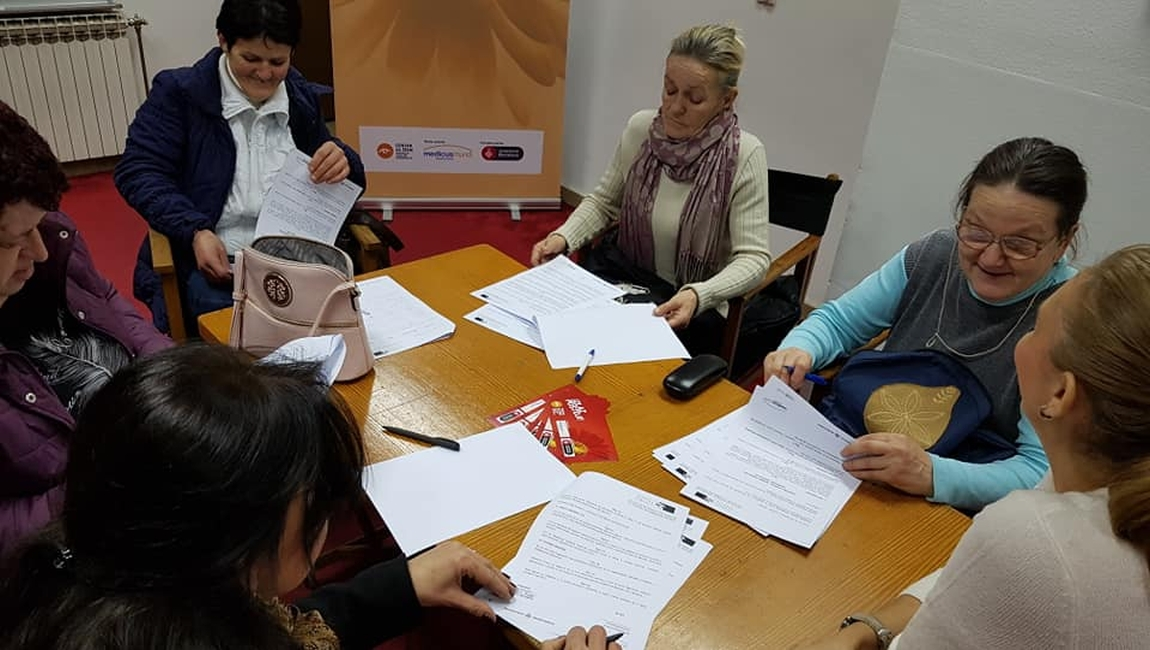 Signed agreements to support 5 women, formerly Safe House beneficiaries and beneficiaries of the Centre for Women in financing their entrepreneurial ideas