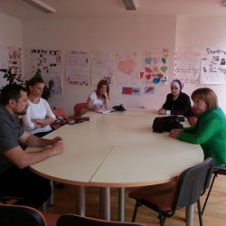 The visit by the Ministry of Labour, Social policy, Displaced persons and Refugees of Canton Sarajevo