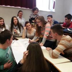 Educational workshop in High Dental school in Sarajevo