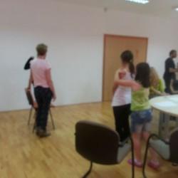 "Visit of the ""Phoenix aid"" London - The massage program for children in schools"