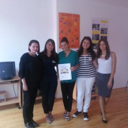 Letter of thanks to Youth Council of Municipality Ilidža