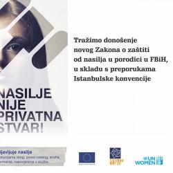 """""""Nasilje nije privatna stvar!"""" – Inicijativa za izmjenu Zakona o zaštiti od nasilja u porodici u FBiH"""